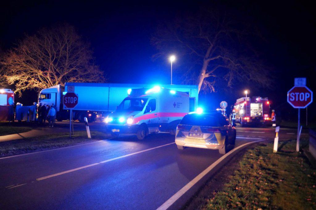 Unfall bei der Kreuzung Neudörpener Straße/Strootburg am 22.01.2020