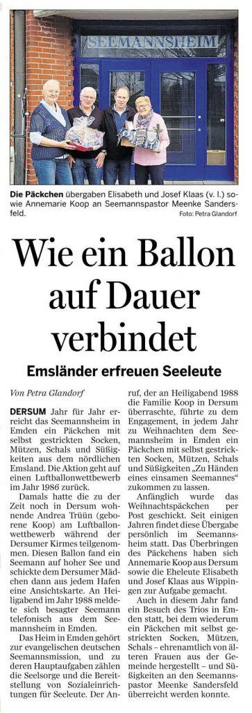 Ems-Zeitung vom 30.12.2019