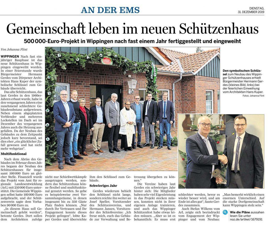 Ems-Zeitung vom 31.12.2019