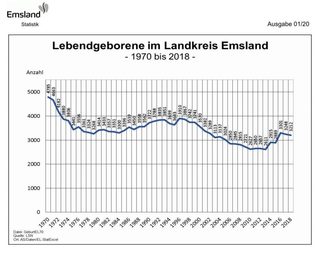 Emsland-Statistik 1/2020