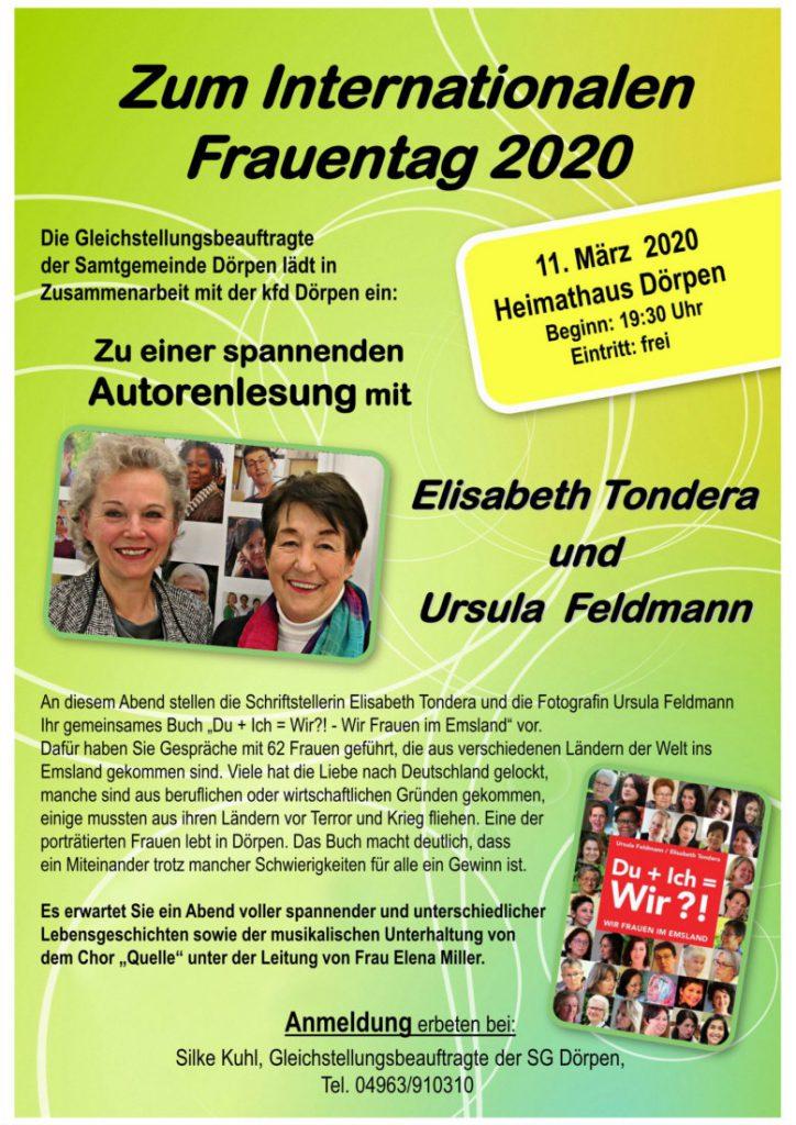 Flyer zum Frauentag