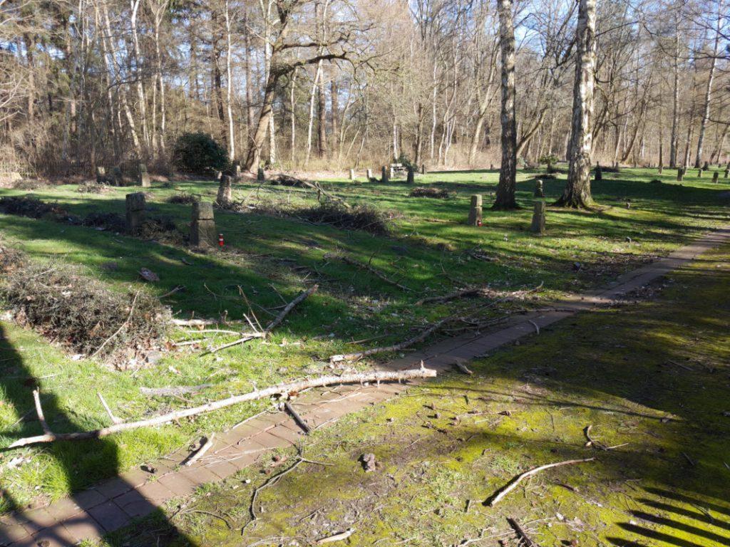 Begräbnisstätte Esterwegen 03/2020