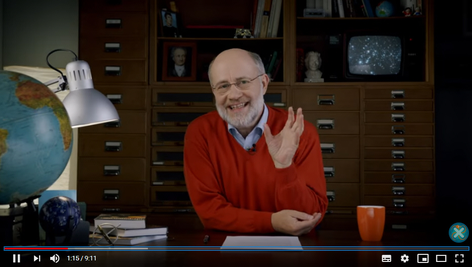 Harald Lesch auf Youtube