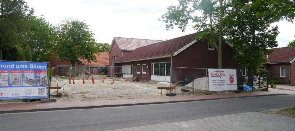 Kindergarten Wippingen, Fundamente Anbau 06/2020