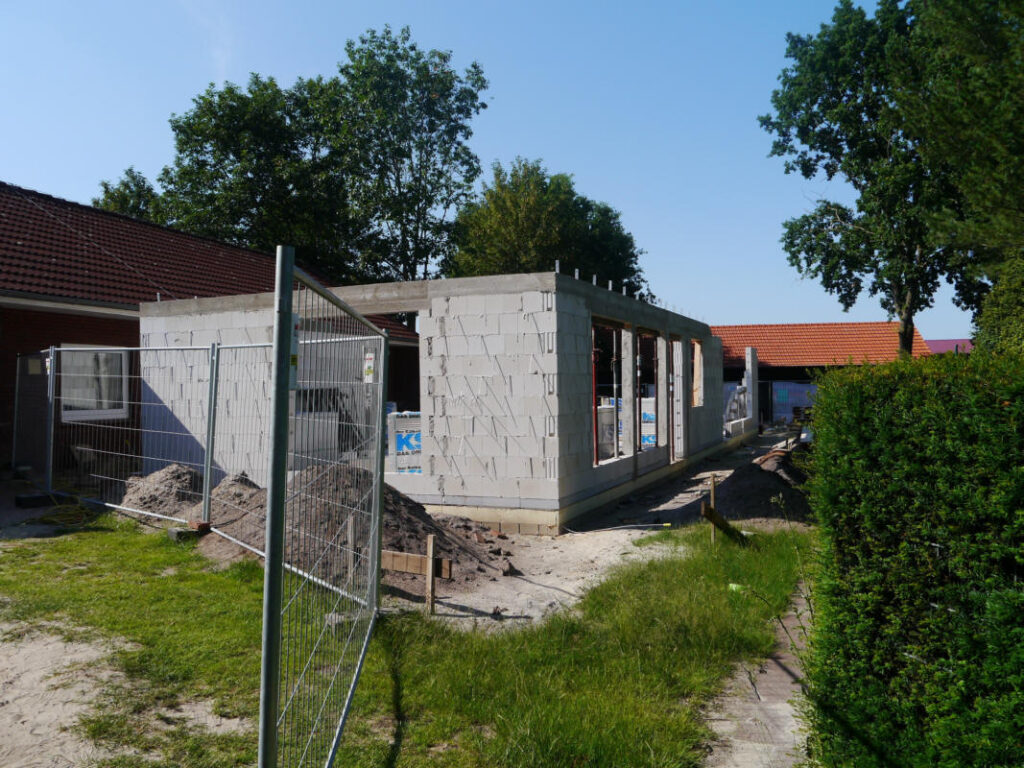Anbau des Kindergartens 06/2020