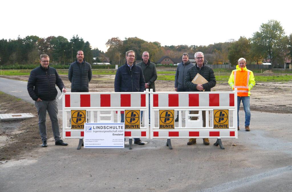 V.l.: Torsten Brinker (Bunte), Antonius Richert (Lindschulte), Hermann Wocken (SG Dörpen), Markus Büter (Bunte), Josef Rojer (Lindschulte), Hermann Gerdes, Helmut Janßen (SG Dörpen)