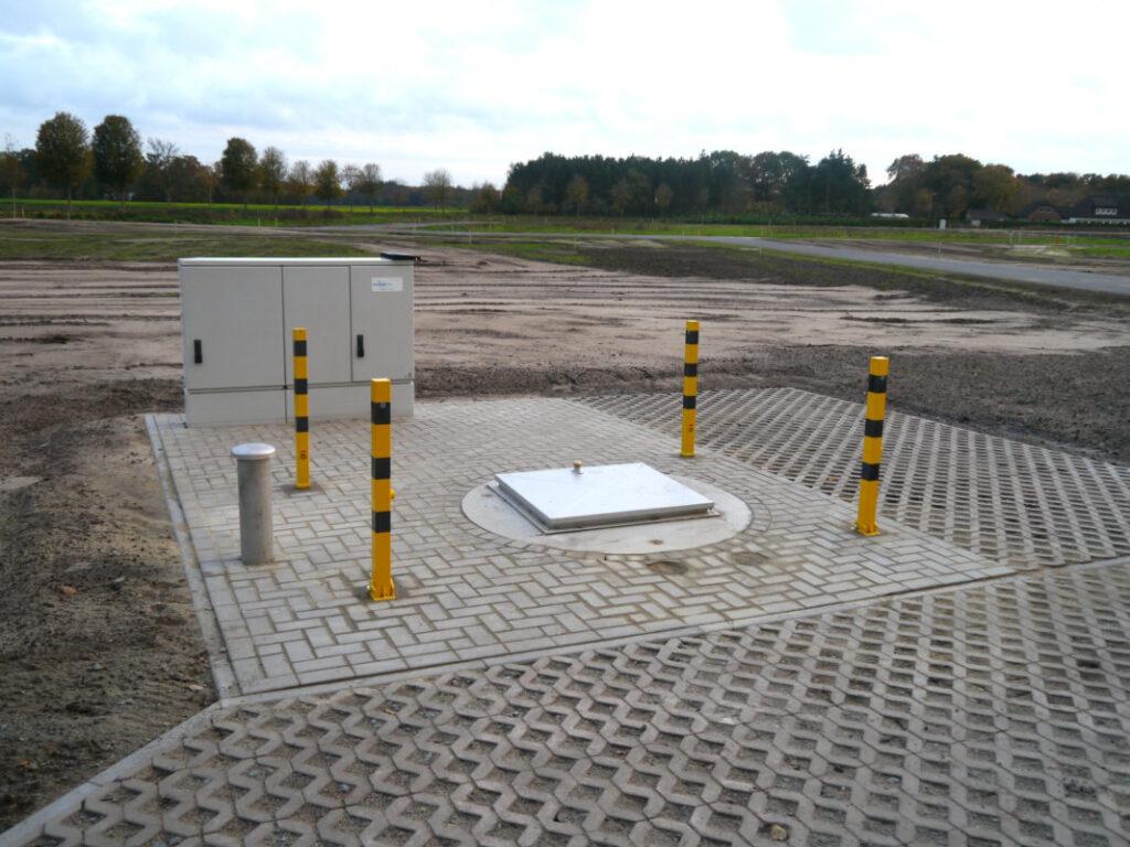 Pumpstation für Schmutzwasser an der Sonderburgstraße