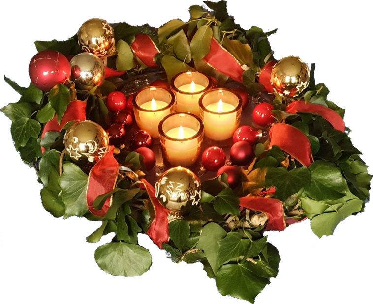 4 Kerzen zum 4. Advent