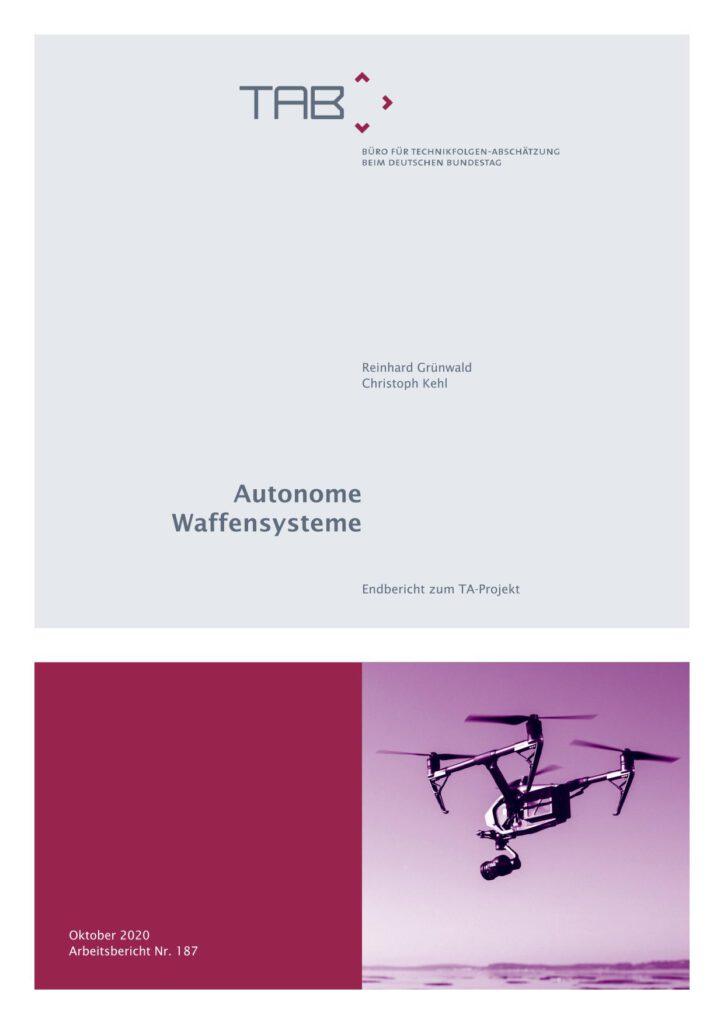 TAB-Arbeitsbericht Nr. 187 Autonome Waffensysteme, Bundestag