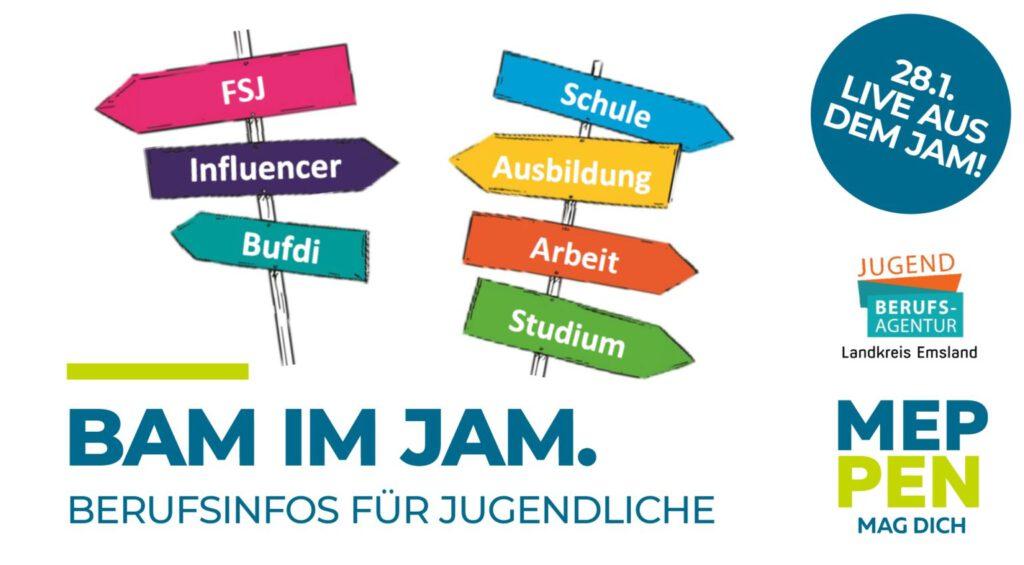 Jugendberufsagentur Emsland BAM im JAM