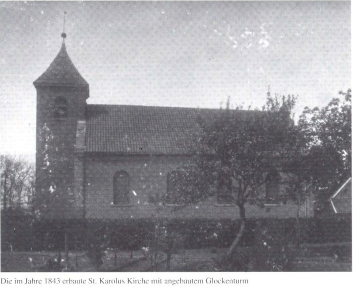 1843 erbaute Wippinger Kirche