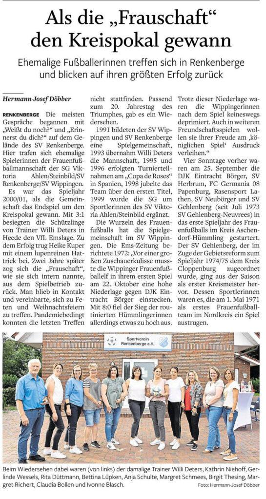 Ems-Zeitung vom 24.08.2021
