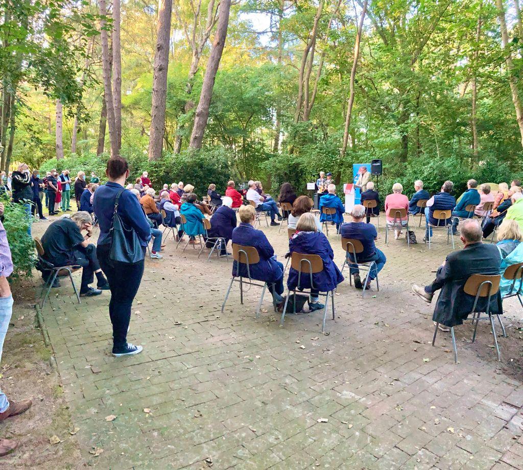 Mahnveranstaltung zum Antikriegstag in Esterwegen 2021