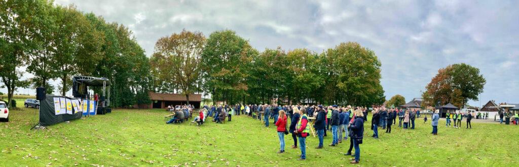 Fast 300 Teilnehmer beim Vortrag von Jochen Stay in Renkenberge am 16.10.2021